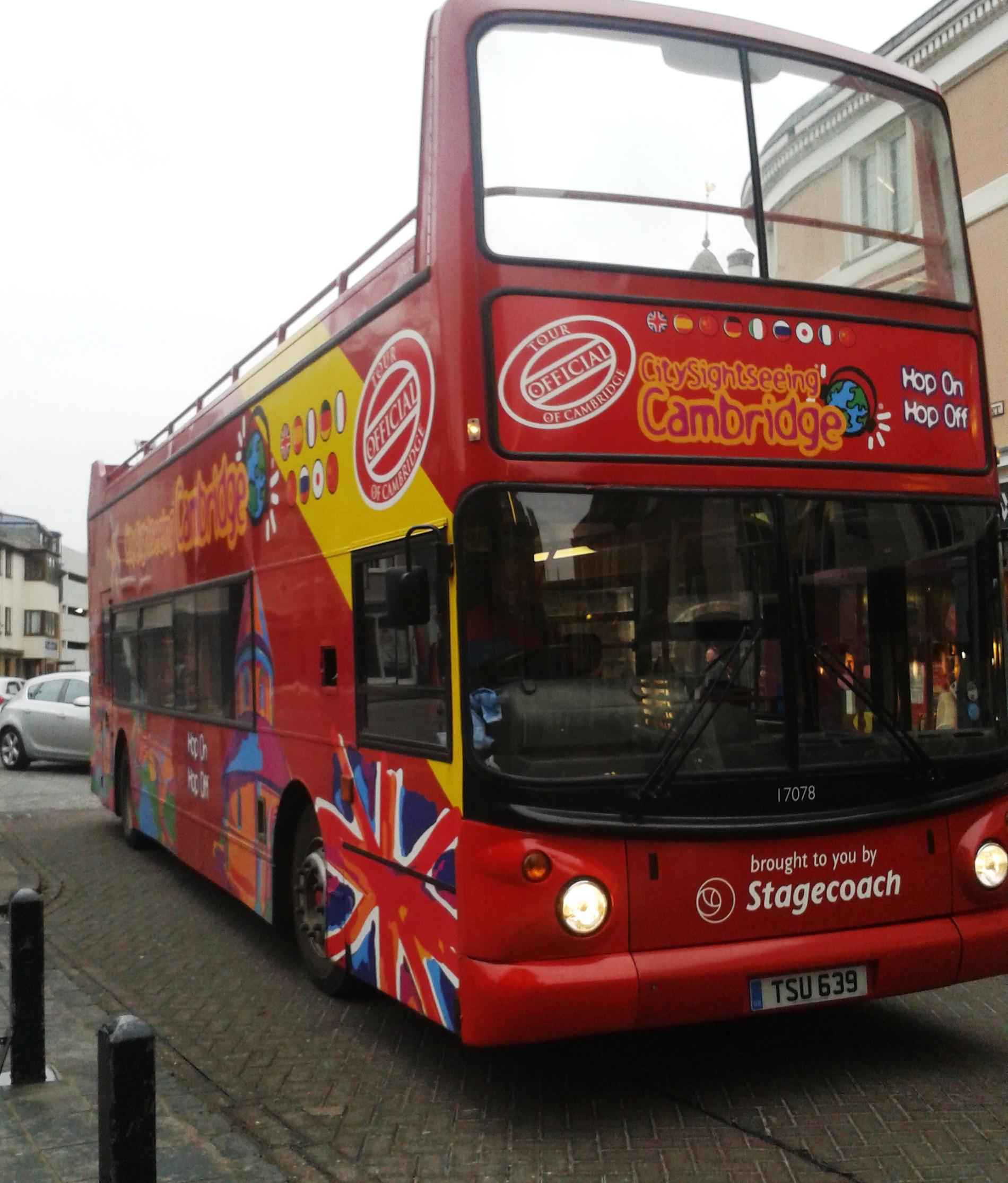 ônibus turístico uk