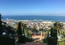 Jardim Bahaista, Haifa