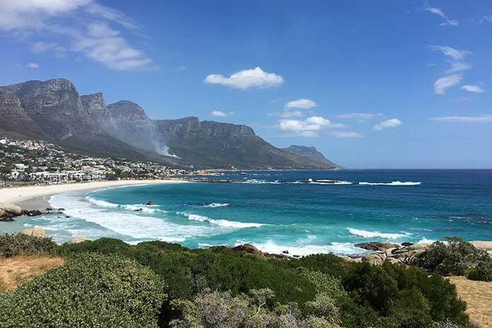 viajar sozinha para Cape Town
