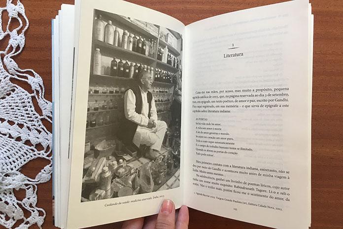 livro de viagem na índia