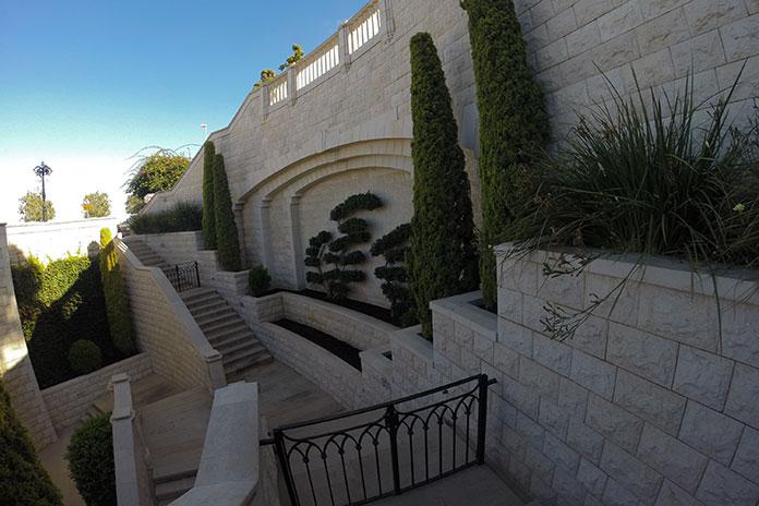 Jardim Bahaísta, Haifa