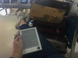 Kindle em viagens