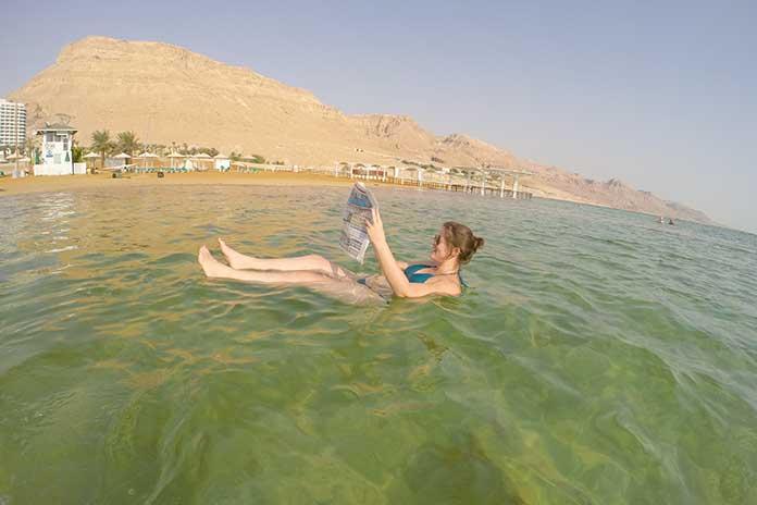 curiosidades sobre o Mar Morto