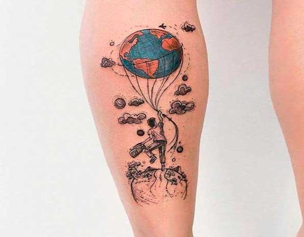10 Ideias De Tatuagens De Viagem Para Inspirar As Viagens
